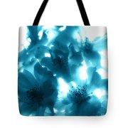 Blue Sunlight Fusion Tote Bag