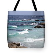 Blue Surf Tote Bag