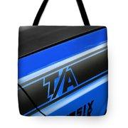Blue Ta Tote Bag