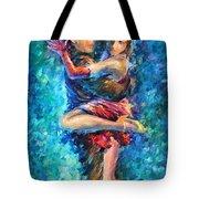 Blue Tango 1 Tote Bag