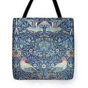 Blue Tapestry Tote Bag