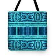 Blue Teal Dreams Tote Bag