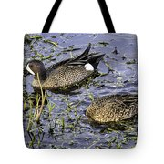 Blue Teal Tote Bag