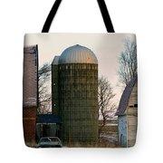 Blue Tear Farm Tote Bag