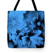 Blue Tears Tote Bag
