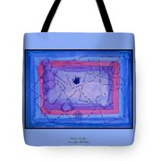 Blue Threads Tote Bag