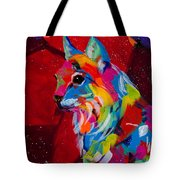 Blue Tips Tote Bag by Tracy Miller