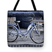 Blue Tornado Tote Bag by Perry Webster
