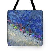 Blue Trail Tote Bag