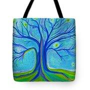 Blue Tree Sky By Jrr Tote Bag
