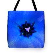 Blue Tulip Tote Bag