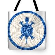 Blue Turtle Tote Bag