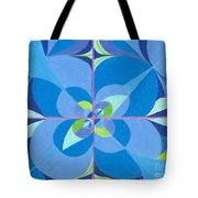 Blue Unity Tote Bag