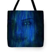 Blue Veil Tote Bag