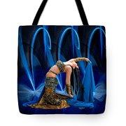 Blue Veils Tote Bag