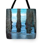 Blue View Tote Bag