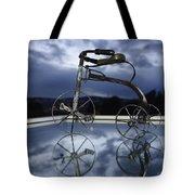 Blue Visions 5 Tote Bag