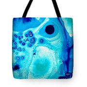 Blue Visions - Deep Emotive Abstract Art Print To Buy Tote Bag