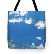 Blue Wall Tote Bag