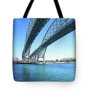 Blue Water 6 Tote Bag