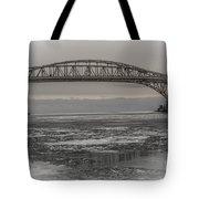 Blue Water Bridges Tote Bag