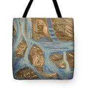 Blue Water Dancing  Tote Bag