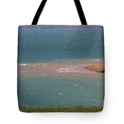 Blue Water Wilson Lake Tote Bag