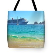 Blue Waters Of Cabo Tote Bag