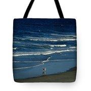 Blue Wave Walking Tote Bag