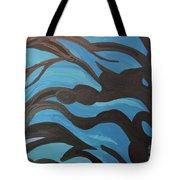 Blue Waves Of Healing Tote Bag