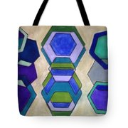 Blue Who Tote Bag