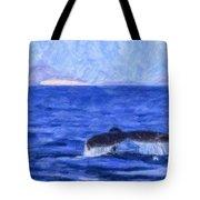 Blue Wilderness Tote Bag