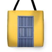Blue Window Tote Bag