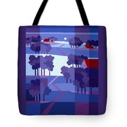 Blue Winter Farms Tote Bag