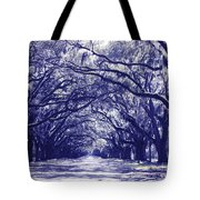Blue World In Savannah Tote Bag