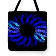 Blue Wreath Tote Bag