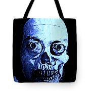 Blue Zombie Tote Bag