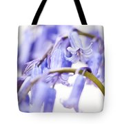 Bluebell Abstract II Tote Bag