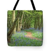 Bluebell Wood 3 Tote Bag