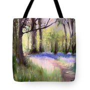 Bluebells At Dusk Tote Bag