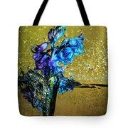 Bluebells In Water Splash Tote Bag