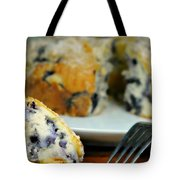 Blueberry Bundt Cake Tote Bag