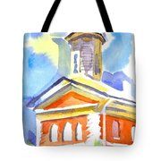 Blueberry Courthouse Tote Bag