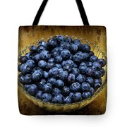 Blueberry Elegance Tote Bag by Andee Design