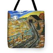 Blueberry Farm Tote Bag