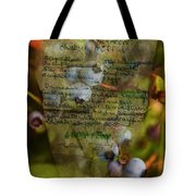 Blueberry Muffins Tote Bag