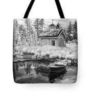 Blueberry Pond  Tote Bag