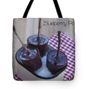 Blueberry Popsicles Tote Bag