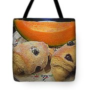 Blueberry Scones And Cantaloupe Tote Bag