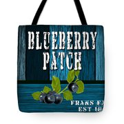 Blueberrys Tote Bag